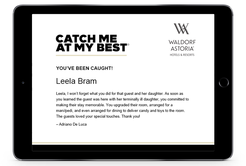 Catch me at my best peer recognition program download customizable recognition materials below youll find an assortment of materials to build awareness and motivate your team download certificates yelopaper Image collections